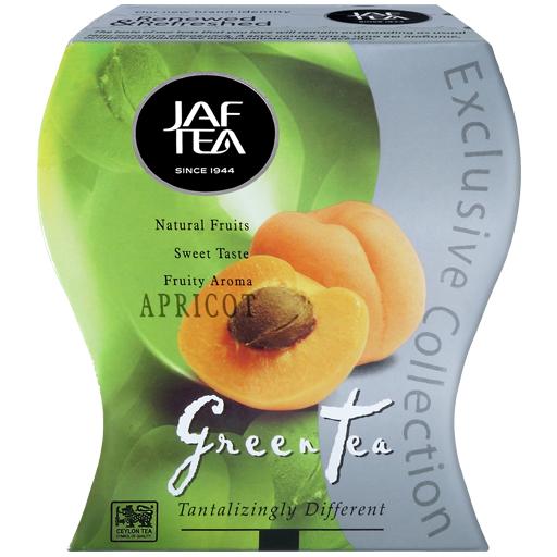 """JAFTEA зеленый чай """"Абрикос"""" (Apricot) 100g"""