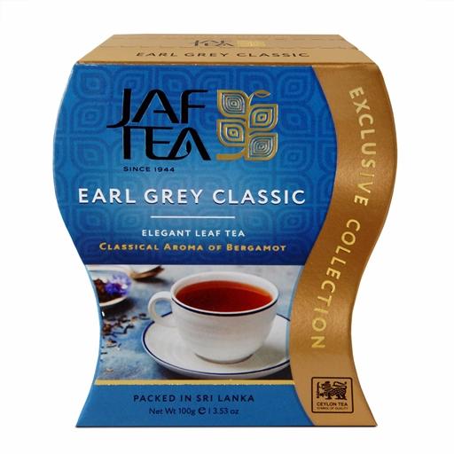 """JAFTEA черный чай """"Седой граф Классический"""" (Earl Grey Classic) 100g"""