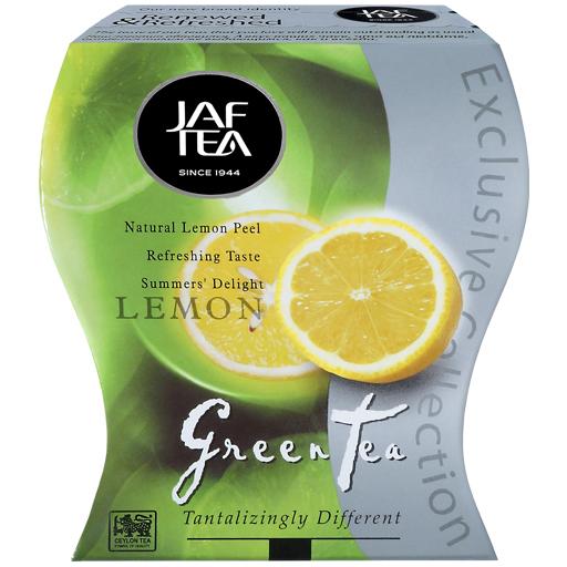 "JAFTEA зеленый чай ""Лимон"" (Lemon) 100g"