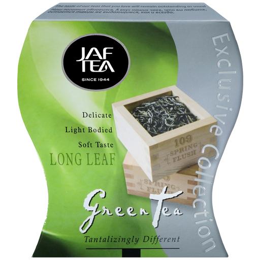 """JAFTEA зеленый чай """"Длинный лист"""" (Long Leaf) 100g"""