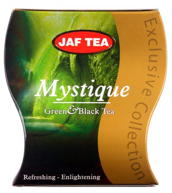 """JAFTEA черный+зеленый чай """"Мистик"""" (Mystique) 100g"""
