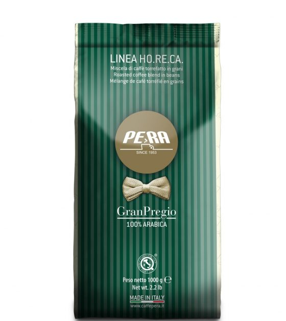 """Кофе в зернах Pera GRAN PREGIO , пакет 1000г в интернет-магазине """"Золотая чашка"""""""