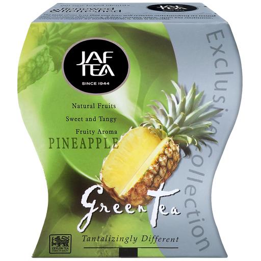 """JAFTEA зеленый чай """"Ананас"""" (Pineapple) 100g"""