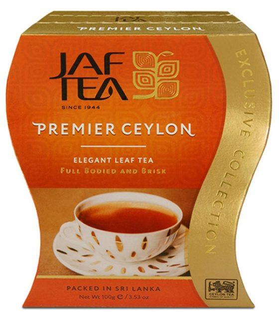 """JAFTEA черный чай """"Премьер Цейлон"""" (Premier Ceylon) 100g"""