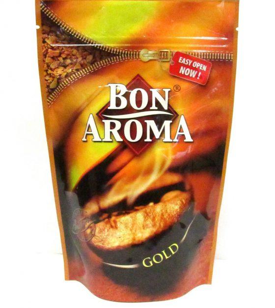 Bon Aroma Gold растворимый кофе , 75гр. , дой-пак с зип-замком