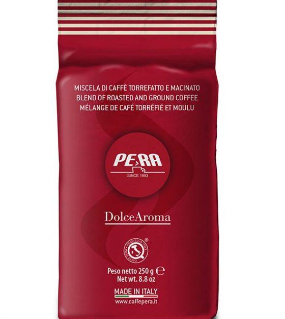 Pera кофе молотый Dolce Aroma , пакет 250г