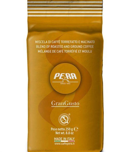 Pera кофе молотый GranGusto , пакет 250г