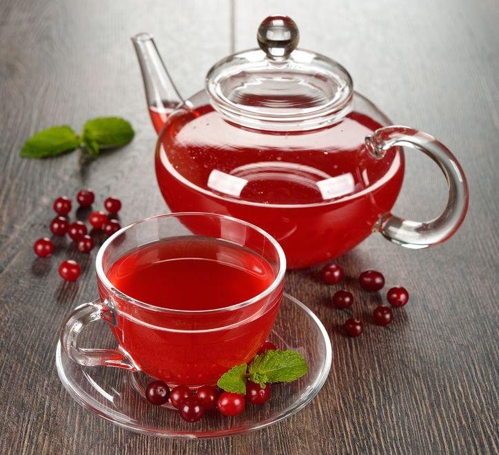 Рецепты с использованием чая. Американский клюквенный чай.