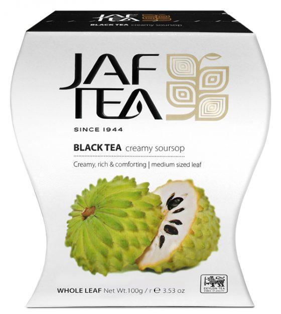 """JAFTEA черный чай """"Крем саусеп"""" (Creamy Soursop) 100g"""