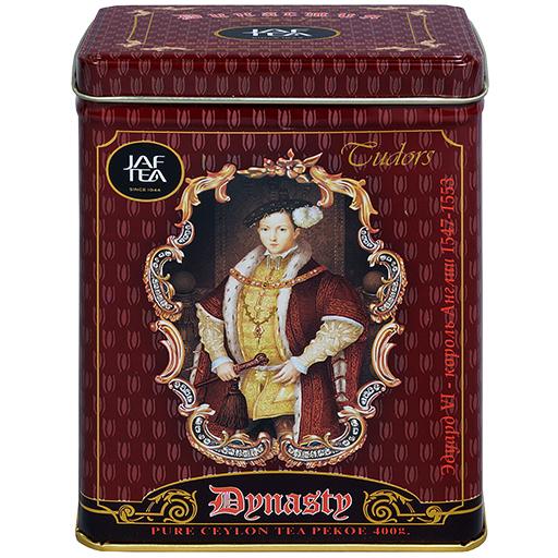 """JAFTEA черный чай """"Династия"""" (Dynasty) жестяная банка 400g"""