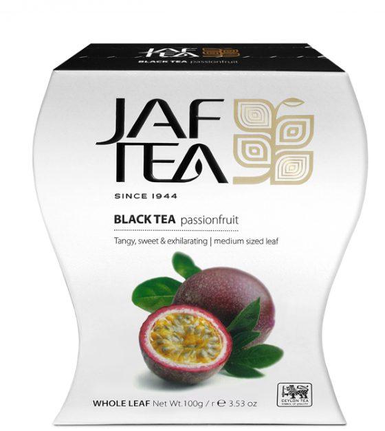 """JAFTEA черный чай """"Плод страсти"""" (Passion Fruit) 100g"""
