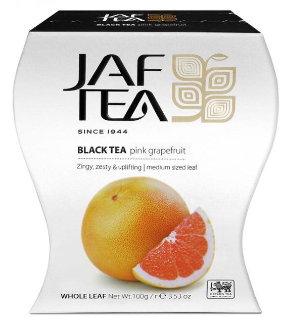 """JAFTEA черный чай """"Розовый грейпфрут"""" (Pink Grapefruit) 100g"""
