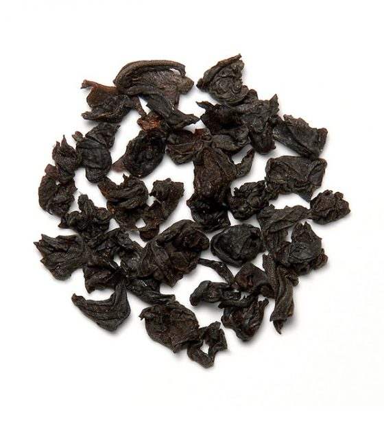 "JAFTEA черный чай №825 ""КРАЙГХЭД"" (Craighead) Pekoe жестяная банка 100g (изображение чайного листа)"