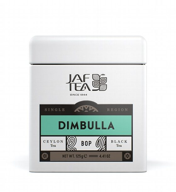 "JAFTEA черный чай ""ДИМБУЛЛА"" (Dimbulla) BOP жестяная банка 125g"