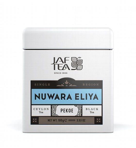 "JAFTEA черный чай ""НУВАРА ЭЛИЯ"" (Nuwara Eliya) Pekoe жестяная банка 100g"