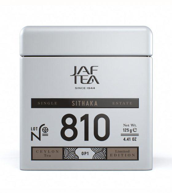 "JAFTEA черный чай №810 ""СИТАКА"" (SITHAKA) OP1 жестяная банка 90g"