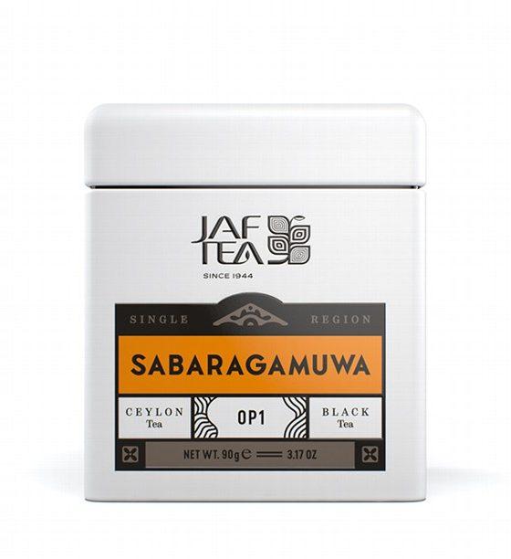 """JAFTEA черный чай """"САБАРАГАМУВА"""" (Sabaragamuwa) OP1 жестяная банка 90g"""
